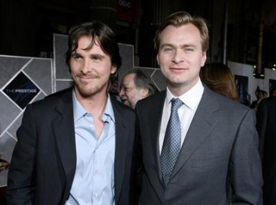 Christian Bale y Christopher Nolan